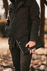 Kožené puzdro na tablet / notebook URBAN čierne