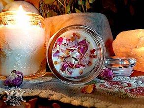 Svietidlá a sviečky - Vintage Rose - 11626576_