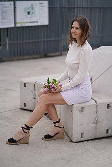 Sukne - Menčestrová sukňa - 11626505_