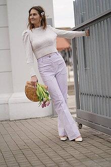 Nohavice - Menčestrové nohavice - 11626542_
