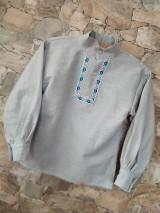 Detské oblečenie - Ľanová košieľka - 11626329_