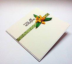 Papiernictvo - Pohľadnica ... pre pani učiteľku (A) - 11631545_
