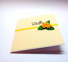 Papiernictvo - Pohľadnica ... pre pani učiteľku (B) - 11631555_