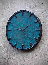 Hodiny - hodiny kovovo-medené 3 - 11631082_