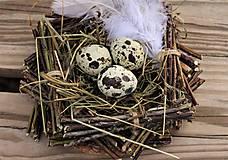 Dekorácie - Hniezdo - 11630782_