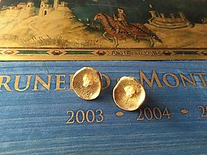 Náušnice - fimovky s 3 perličkami - 11629473_