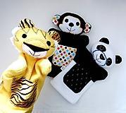 Hračky - Kamaráti z Ázie - sada maňušiek na ruku - 11629305_