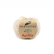 Galantéria - Priadza KATIA Fair Cotton - organická bavlna - 11629629_