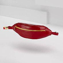 Kabelky - Kožená ľadvinka / belt bag MAVERA - 11630305_