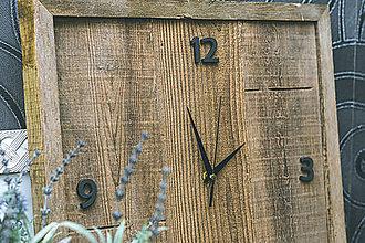 Hodiny - Rustic hodiny - 11631506_