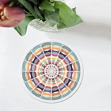 Pomôcky - Vlnitý kruh - podšálka - 11630337_