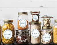 Papiernictvo - Nálepky do kuchyne s názvami potravín - 11634710_
