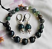 Sady šperkov - achátový - 11633864_