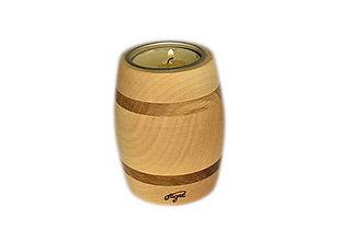 Svietidlá a sviečky - Svietnik Barrel - 11634303_