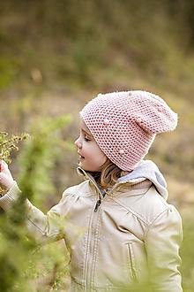 Detské čiapky - jarná čiapka GUĽKA - 11633074_