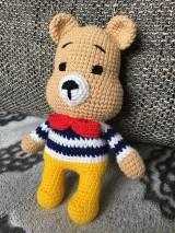 Háčkovaný medvedík Teddy