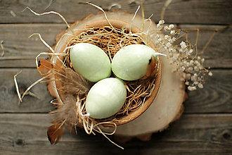 Svietidlá a sviečky - Veľkonočné vajíčko - sviečka - 11637133_