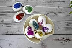 Dekorácie - Kraslica Veselá perlička (Zelená) - 11636573_