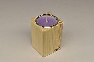 Svietidlá a sviečky - Kubik Fir - 11636453_
