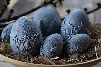 Dekorácie - Vajíčka s kamenným efektom - 11638089_