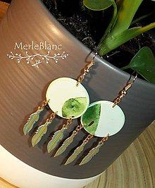 Náušnice - Kaktus - 11638469_