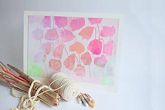 Obrazy - Kvetinový záhon ... - 11639458_