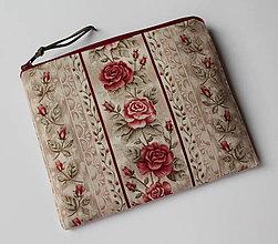Taštičky - SAShEnka no. 221 růžičky - taštička do kabelky - 11639452_