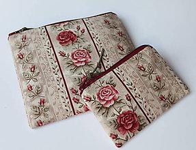 Peňaženky - Peňaženka - SAShEnečKa - růžičky (mincovka, intimka) - 11639537_