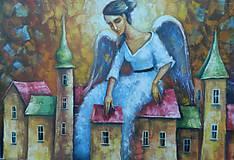 Obrazy - OCHRANCA DOMOVA - 11639925_