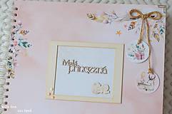 Papiernictvo - Detský fotoalbum - pre dievčatko (so zvieratkami) - 11637808_