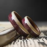 Prstene - GAŠTAN / AMARANTH - 11638570_