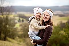 Ozdoby do vlasov - Set pre mamu a dcéru  - 11638822_