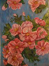 Obrazy - Keď rozkvitne jabloňka - 11639202_