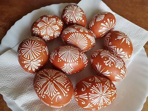 Dekorácie - Pisanky batikované - 11638989_