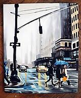 Obrazy - Foggy NY - 11638817_