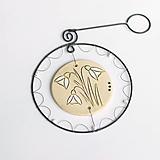 Dekorácie - jarná dekorácia - snežienky - 11640833_