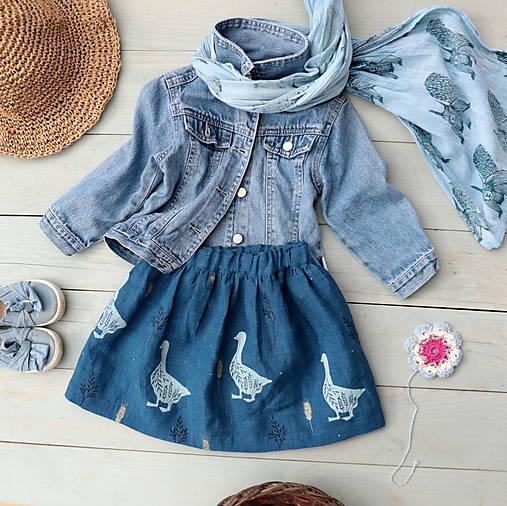 Detské oblečenie - lněná(vel.74) - 11640677_