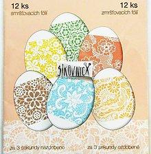Pomôcky/Nástroje - Zmršťovacie košieľky na vajíčka, 12 ks  (krajkové, čipkové) - 11641737_