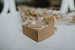 Náramky - Úzky náramok s vlastným textom - 11641219_