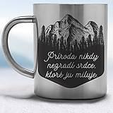 Nádoby - Nerezový hrnček - 11640579_
