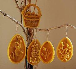 Dekorácie - Veľkonočné ozdoby - ploché vajíčka - 11641186_