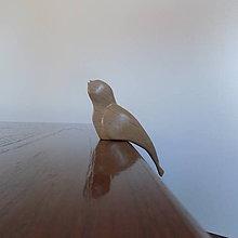 Dekorácie - Vtáčik dekor - 11643992_
