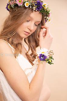 """Náramky - Kvetinový náramok """"lúčne bozky"""" - 11643244_"""