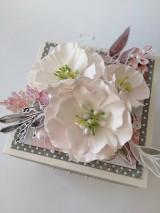 Papiernictvo - Svadobný exploding box Akvarel II - 11642852_