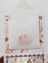 Papiernictvo - Svadobný exploding box Akvarel II - 11642856_