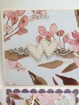 Papiernictvo - Svadobný exploding box Akvarel II - 11642858_