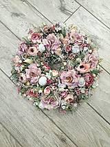 Dekorácie - Romantický venček na dvere - 11643977_