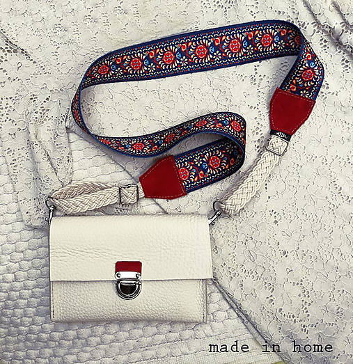 Leather mini bag no.1
