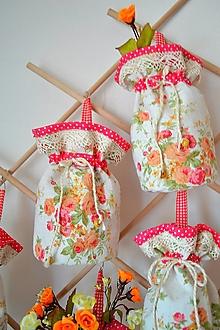 Úžitkový textil - Ľanové košíky na sušené ovocie, bylinky, huby... - 11640879_