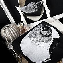 """Tričká - Čierne dámske tričko """"Vertigo"""" - 11648314_"""